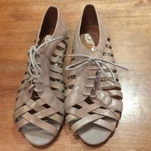 Taupe Jeffrey Campbell Sandals, Size 9.5